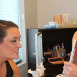 Bridesmaid make-up by Danielle